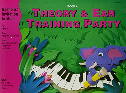 Bastiens' Invitation to Music: Theory and Ear Training Party Book A ()