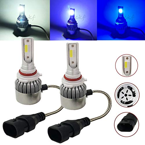 CK Formula (3 Color in 1 Bulb) H10 9145 9140 9045 9055 (Fog Light) 6K White 8000K 10000K Deep Blue COB LED 7600 LM 72 W