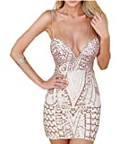 Women Sexy dress Sequined bodycon bandage club Dresses Party Dress