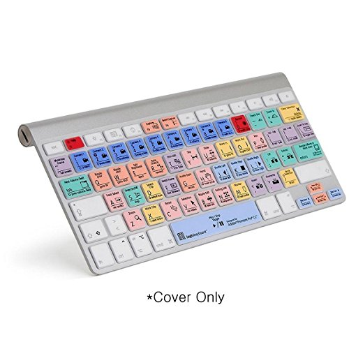Logickeyboard LogicSkin Compatible with Apple Adobe Premiere Pro CC Keyboard Part Number: LK-LS-PPROCC-MBUC