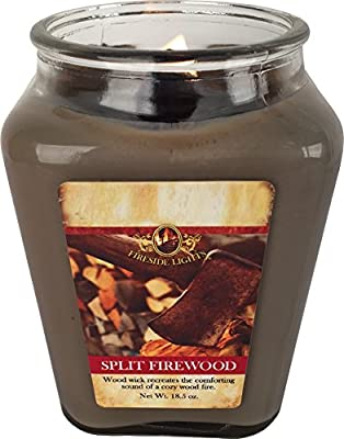 Squire Boone's Woodwick Fireside Scented Soy Candle