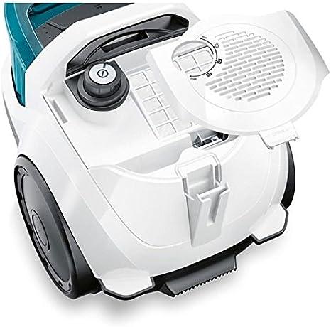Bosch BGS1112 - Aspirador sin bolsa, 600 W, 79 dB, color blanco y ...