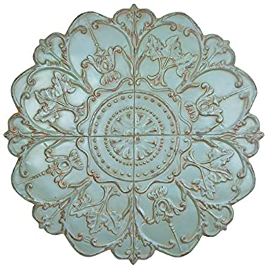 Stratton Home Decor SPC 977 Shabby Medallion Wall Decor