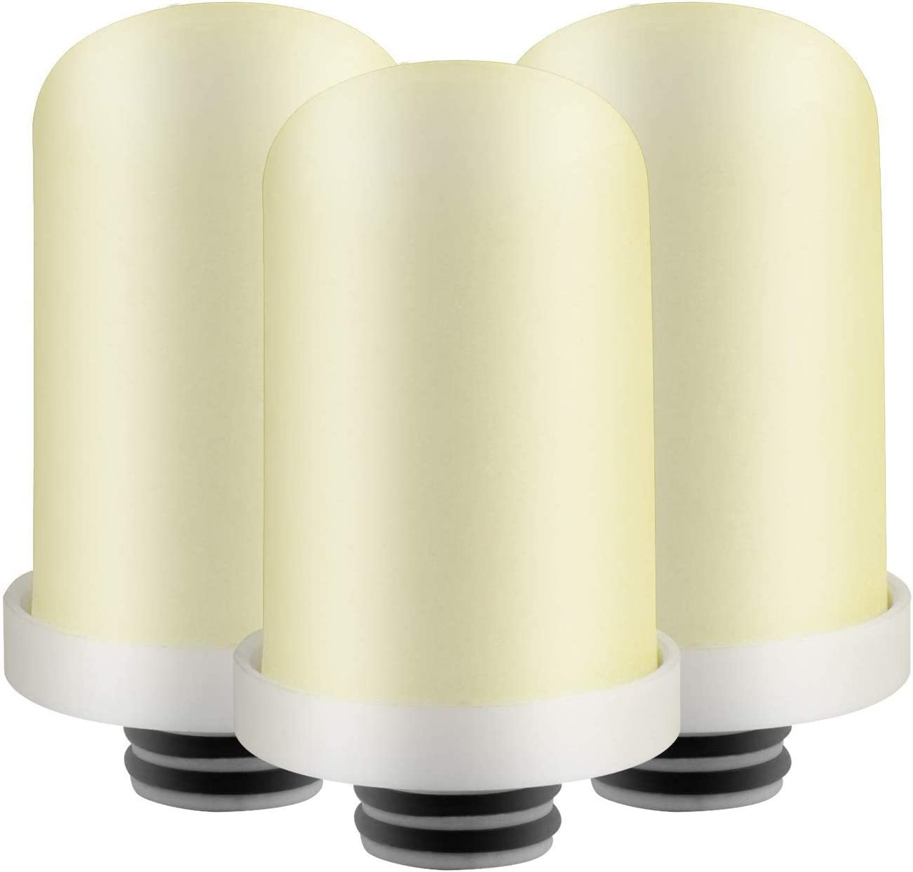 Geekpure Replacement Filter Set for Advanced TF-3 Faucet Water Filteration Pack of 3