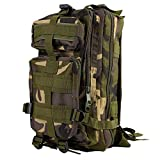 OUTAD Military Tactical Backpack 30L Molle Assault Pack Rucksacks for Outdoor Camping Hiking Trekking Traveling Bag Out Bag Camouflage