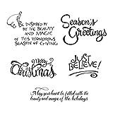 Spellbinders Christmas Sentiments Stamp