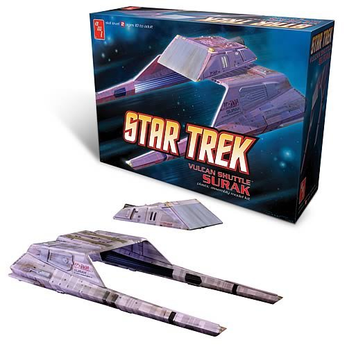 Star Trek Vulcan Shuttle AMT AMT641