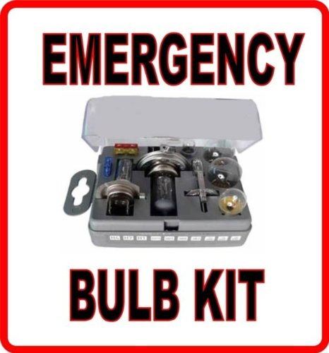 SPARE BULB KIT H1 H4 H7 for Motorhome Elddis wlw