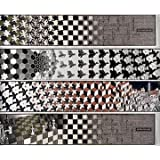 Metamorphosis (4 panels) by M.C. Escher - 8 1/2 x 40 7/8 ea inches - Fine Art Print / Poster