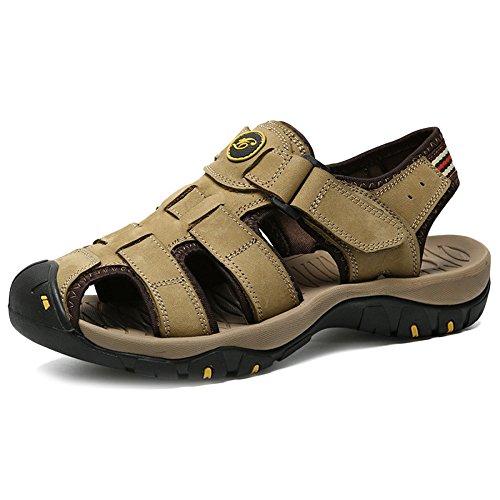 Pantofole da Vera in Scarpe Sandali Uomini Ginnastica All'aperto per Pelle Stivali Casual pap Punta Gli da 5qE7wYRY