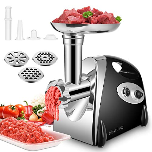 FUCUI Electric Meat Mincer Grinder and Sausage Maker,Powerful 2800 Watt Copper Motor