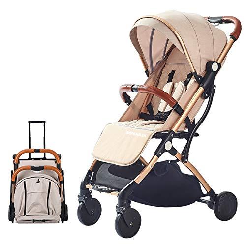 SONARIN Lightweight Stroller,Compact Travel Buggy,One Hand...