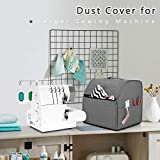 Luxja Dust Cover for Serger Sewing Machine