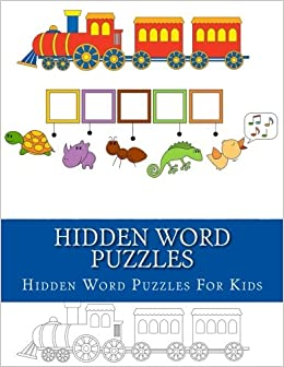 Hidden Word Puzzles Kids Puzzle Activity Book Ages 3 5 Years Old For 9781978366046 Amazon