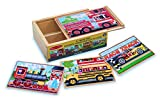 Melissa & Doug Deluxe Vehicles in a Box Jigsaw Puzzles thumbnail