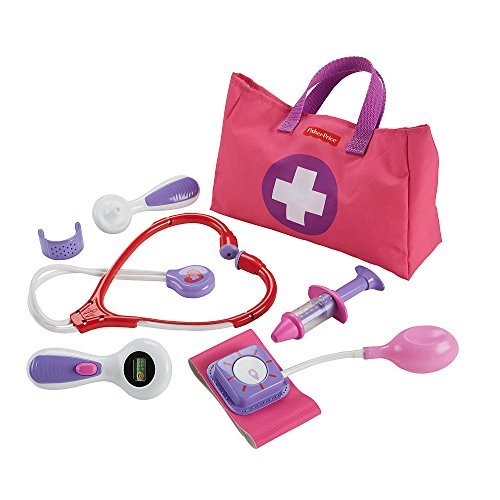 EXCLUSIVE Fisher-Price Medical Kit Playset - Pink (Price Fisher Toys Girls For)