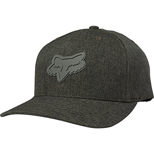 Fox Men's Heads up 110 Snapback, Heather Military, - Malls Indy