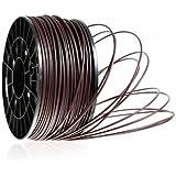 Kaisertech Filament für 3D Drucker 1kg PLA / ABS 1.75mm / 3mm - Premium Qualität & verschiedene Farben (PLA 1.75mm, Braun)