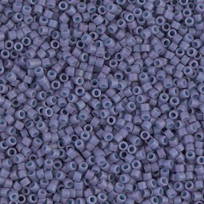 Miyuki Delica 11/0 Cylinder Seed Beads - Dyed SF Op Lavender - DB0799 5 grams