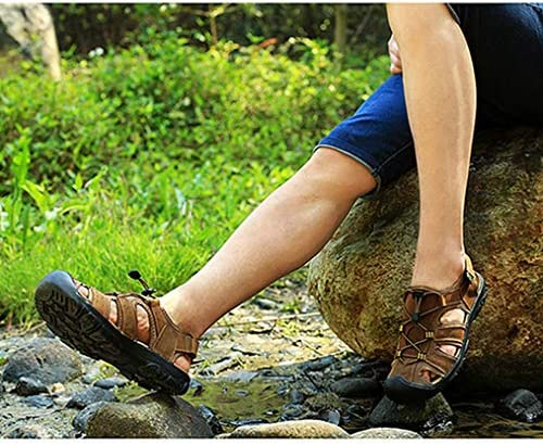 スポーツサンダル メンズ サンダル コンフォート アウトドア 大きいサイズ 夏用 登山サンダル ビーチサンダル つま先保護 軽量 通気 紳士用 登山サンダル 川遊び 海疲れない水陸両用 ホロウ走れる