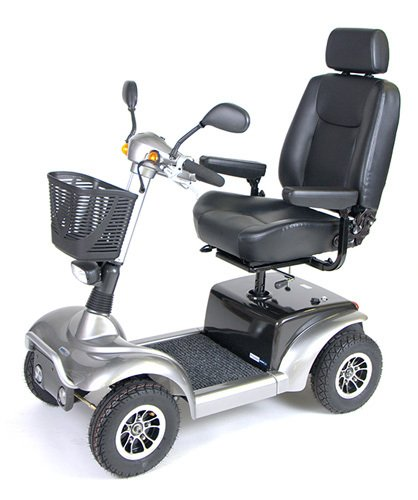 Prowler 3410 4-Wheel Full Size Scooter 20 Metallic Gray (4 Prowler Wheel)