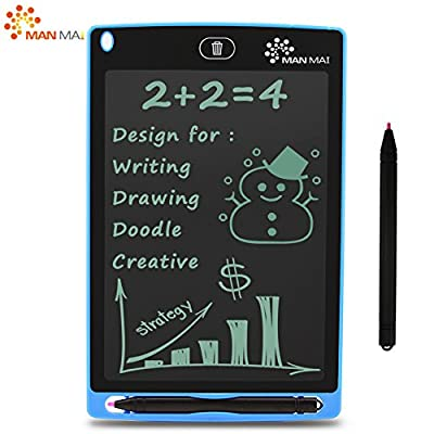 MANMAI LCD Graphic Writing Tablet,Durable Drawing and Writing Board 8.5
