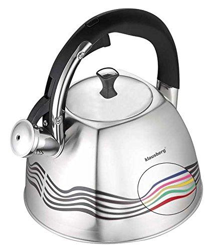 magic Colour Change Kettle Rectangular 3Liter induction Whistling Kettle Tea/Whistling