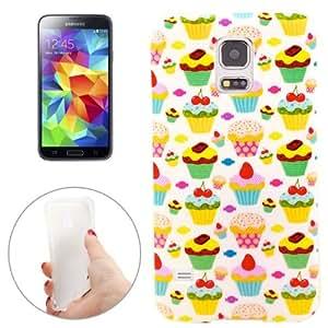 Angel Cakes Pattern TPU Case Funda Carcasa Para Samsung Galaxy S5 G900