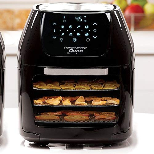 Power AirFryer XL 6 QT Power Air Fryer Oven with 7 in 1 Cooking Features with Professional Dehydrator and Rotisserie