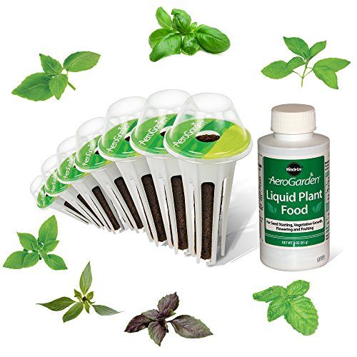 AeroGarden International Basil Seed Pod Kit (7-Pod) by AeroGrow
