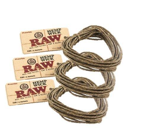 RAW-Natural-Unbleached-Hemp-Beeswax-Hemp-Wick-13ft-4-Meters-3-Pack