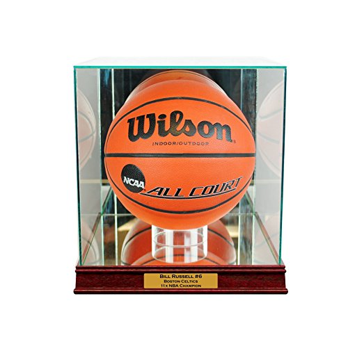 Rectangle Basketball Display Case with Engraving ()