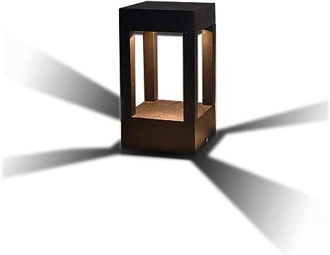 Sockelleuchte Außenlampe Wegeleuchte Pollerleuchte Aussenleuchte Stehlampe Glas