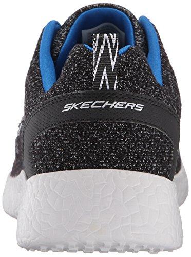 Skechers Sport Mens Energia Burst Affare Più Vicino Sneaker Nero / Blu