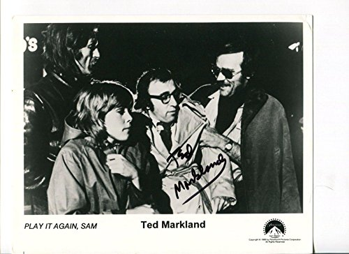 Ted Markland Portray It Again Sam High Chaparral Signed Autograph Photo