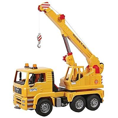 Bruder 02754 MAN TGA Crane Truck: Toys & Games
