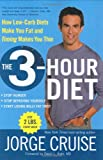 The 3-Hour Diet, Jorge Cruise, 0060792299