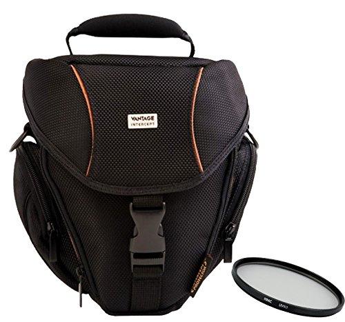 Foto Kamera Tasche COLT ULTRA Set mit UV Filter 55mm für Sony Alpha 7 R II B mit Objektiv SEL 28-70mm KB