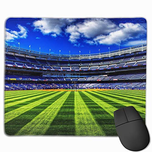Computer Gaming Mouse Pad Rugby Court Laptop Pad Non-Slip Ru
