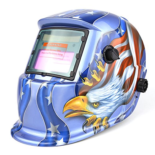 Welding Helmet Mask (Blue) - 1