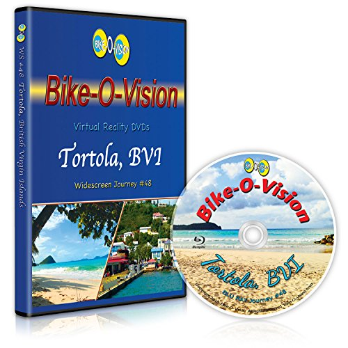 Bay Tortola British Virgin (Bike-O-Vision - Virtual Cycling Adventure - Tortola, British Virgin Islands - Perfect for Indoor Cycling and Treadmill Workouts - Cardio Fitness Scenery Video (Widescreen DVD #48))