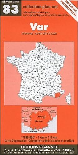 Livres Carte routière : Var epub pdf
