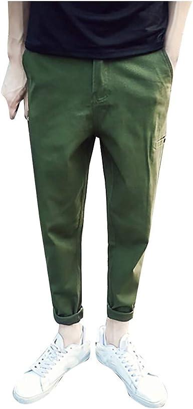 Pantalones para hombre Jogger Harem Jogging bajos deportivos de ...