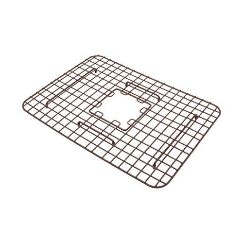 (Sinkology SG007-23 Fuller Copper Kitchen Sink Bottom Grid Heavy Duty Vinyl Coated in Antique Brown)