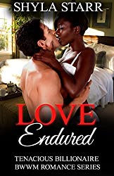 Love Endured (Tenacious Billionaire BWWM Romance Series Book 3)