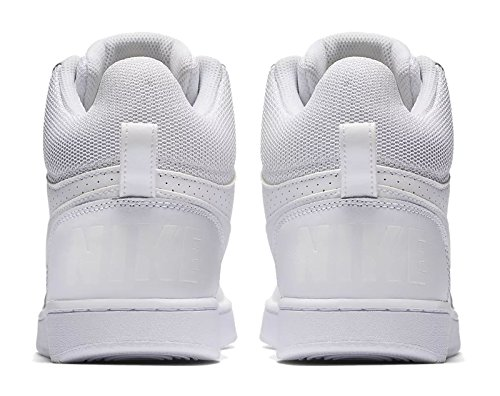 Borough Mid Shoes WMNS Nike Women's White Basketball white Court White OPB4xU