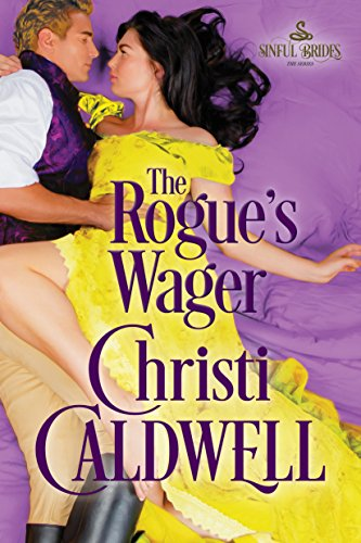 The Rogue's Wager (Sinful Brides Book 1) cover