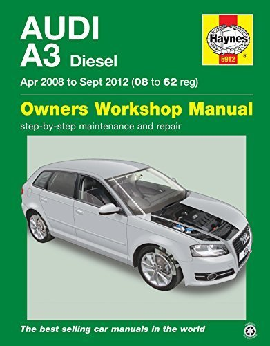 Audi A3 Diesel Owner's Workshop Manual: 2008 to 2012 by John S. Mead (2015-09-24)