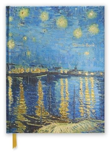 Van Gogh Sketch - Van Gogh: Starry Night (Blank Sketch Book) (Luxury Sketch Books)
