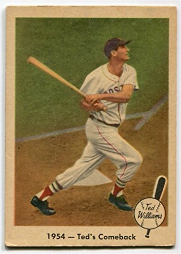Fleer 1959 Ted Williams 1954 Ted's Comeback Card #52 Boston Red Sox